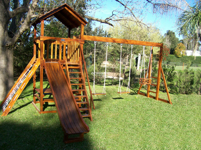 Armont Maderas - Juegos infantiles en madera, trepadoras