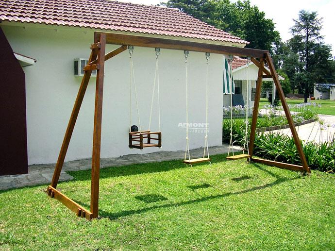 juegos infantiles en madera hamaca - Hamacas De Madera